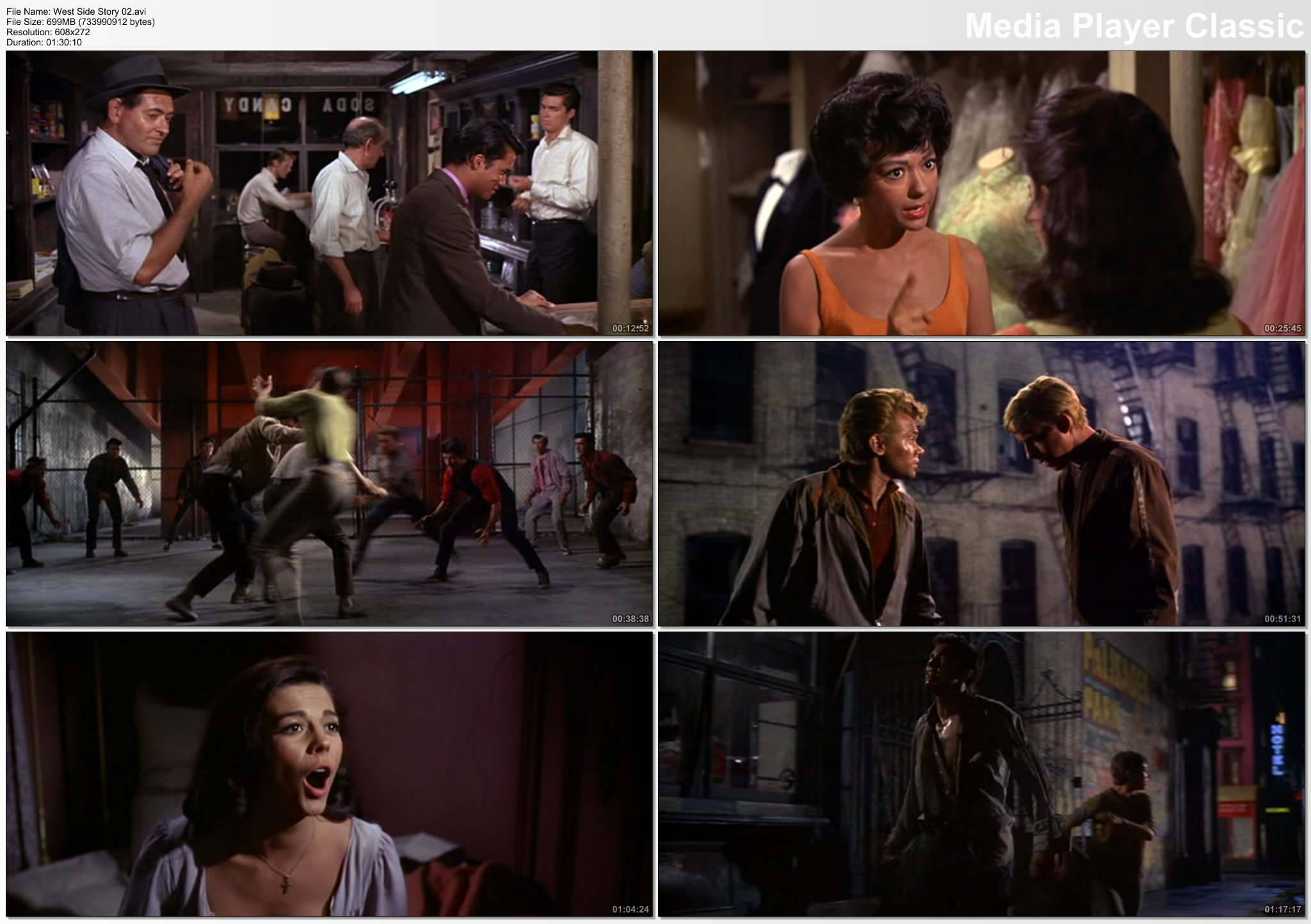 west side story movie length